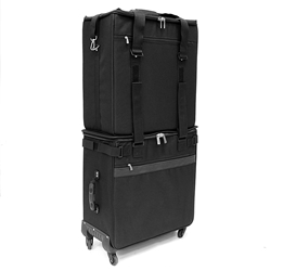 E-2C/U-2C High Capacity Piggyback Bags High Capacity E-2C/U-2C Wheeled Bag 312 frames or 216 sunglasses eyewear display cases