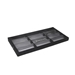 "T-12STM 1 1/4"" Eyewear Display Meshed Cover Tray - T12STM114"